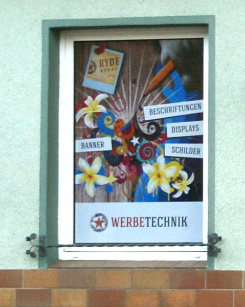 Fensterbeschriftung   Window Graphics Folie